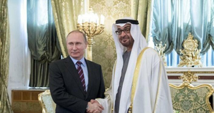 Rusya ve BAE, Ortadoğu'yu kitle imha silahlarından arındırmak için stratejik işbirliği yapacak, Putin ve Zayed