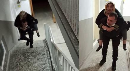 Polisten gönülleri fetheden hareket