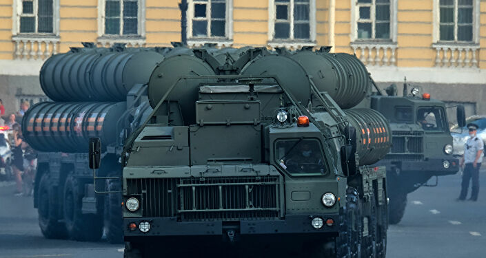 S-400 füze savunma sistemleri