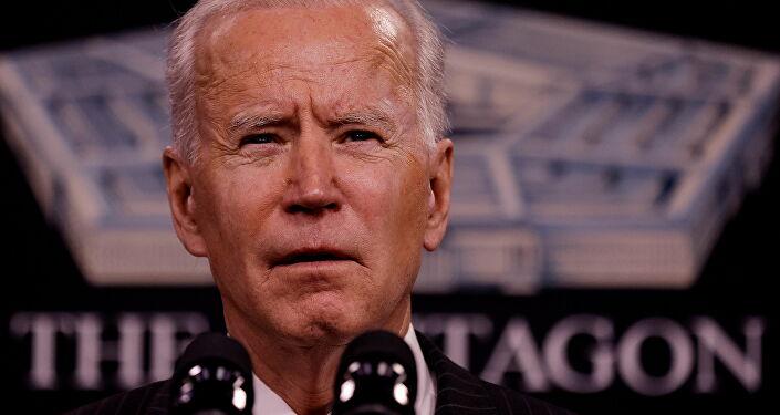 ABD Başkanı Joe Biden, Savunma Bakanlığını (Pentagon) ziyareti sırasında