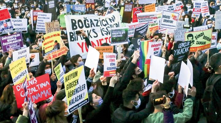 Boğaziçi Direnişi sürüyor: Bir adım bile geri atmayacağız