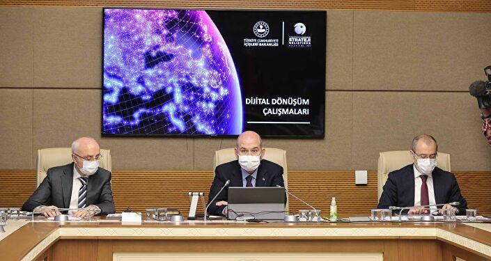 Bakan Soylu, TBMM Dijital Mecralar Komisyonu'nda konuştu.