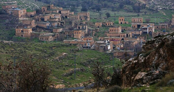 Mardin'in Savur İlçesi'ne bağlı Dereiçi (Kıllıt) Köyü