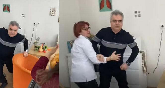 Sağlıkta şiddet bu kez doktordan geldi