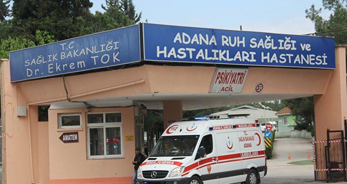 Adana'da şizofreni hastası bir kadın, hastanede kendisine küfrettiğini ileri sürdüğü kadının gözlerini çıkardı.