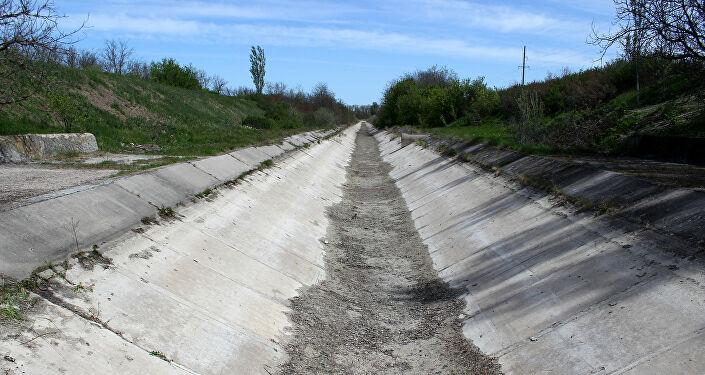 Kırım'a tatlı su tedarikinin kesilmesi