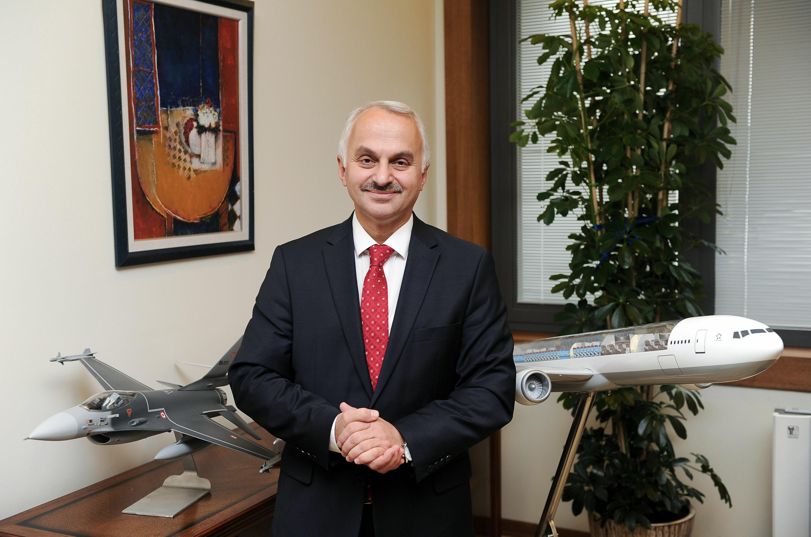 TUSAŞ Genel Müdürü Prof. Dr. Temel Kotil
