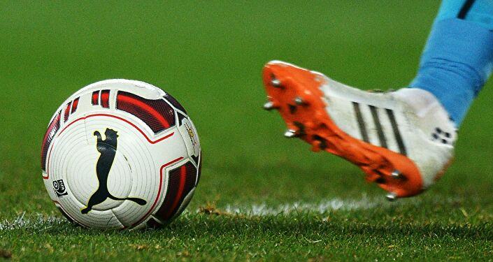 Futbol maçı. Top