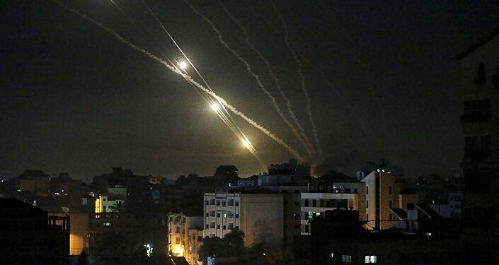 Hamas - Tel Aviv - İsrail - roket saldırısı