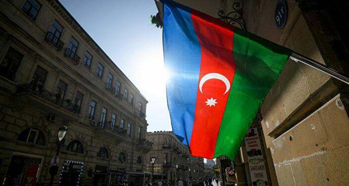 Azerbaycan bayrağı - Bakü