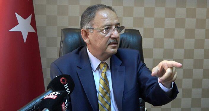 AK Parti Genel Başkan Yardımcısı ve Yerel Yönetimler Başkanı Mehmet Özhaseki,