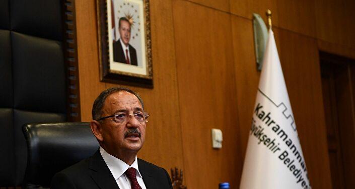 AK Parti Genel Başkan Yardımcısı ve Yerel Yönetimler Başkanı Mehmet Özhaseki