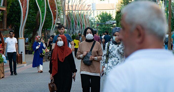 Diyarbakır - maske - koronavirüs