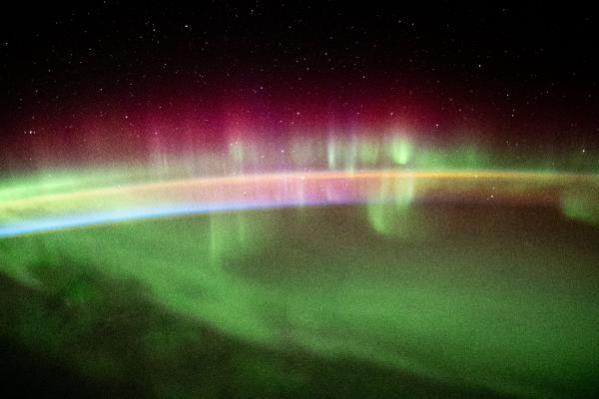 Uzaydan Hint Okyanusu'ndaki kuzey ışıkları görüntülendi